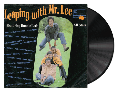 Leaping With Mr Lee - Bunnie Lee's All Star (LP)