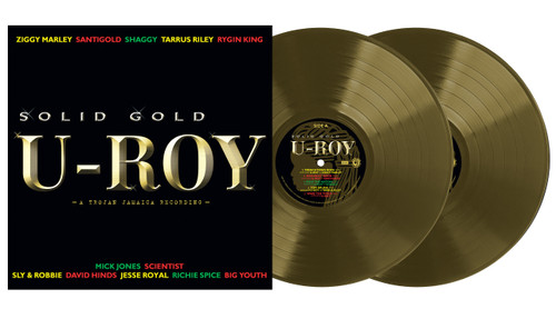 Solid Gold (Exclusive Gold Vinyl)  - U-Roy (2LP)