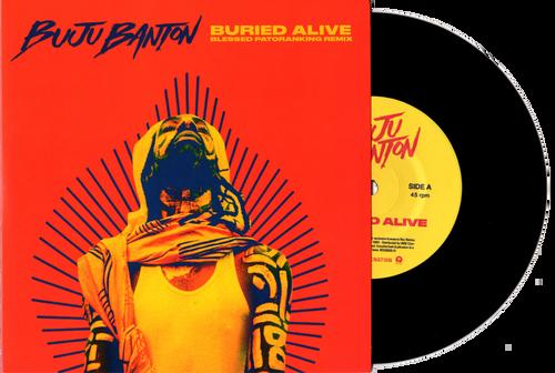 Buried Alive / Blessed - Buju Banton (7 Inch Vinyl)
