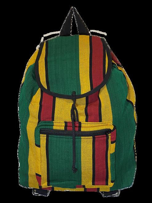 Rasta Stripe Backpack