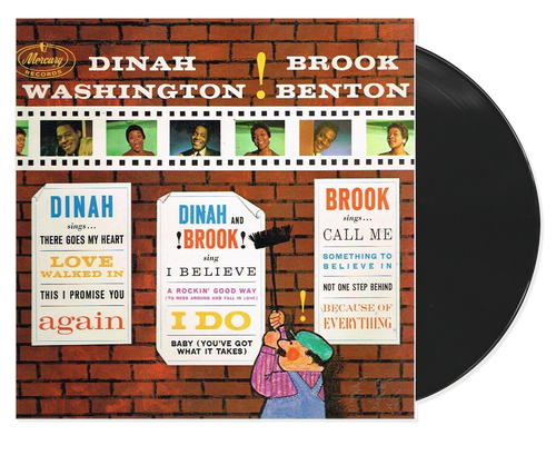 The Two Of Us - Dinah Washington & Brook Benton (LP)
