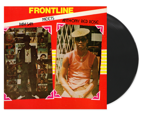 Front Line - Papa San & Anthony Red Rose (LP)