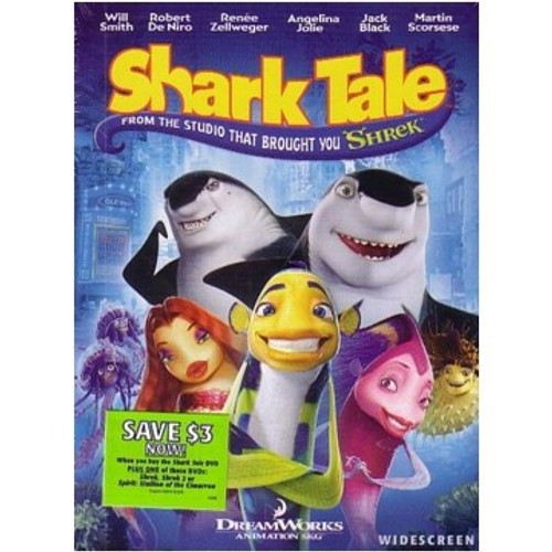 Shark Tale Move(Widescreen) - Will Smith, Robert Deniro, Renee Zellweger (DVD)
