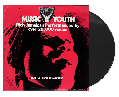 Music And Youth Vol.4 Folk & Pop - Various Artists (LP)