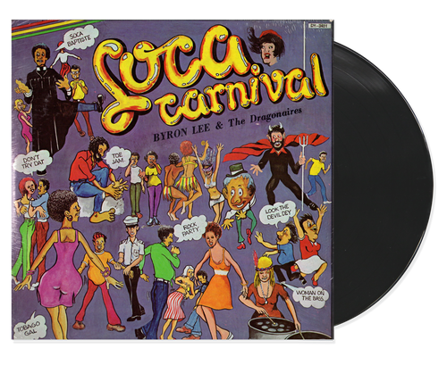 Soca Carnival - Byron Lee & The Dragonaires (LP)