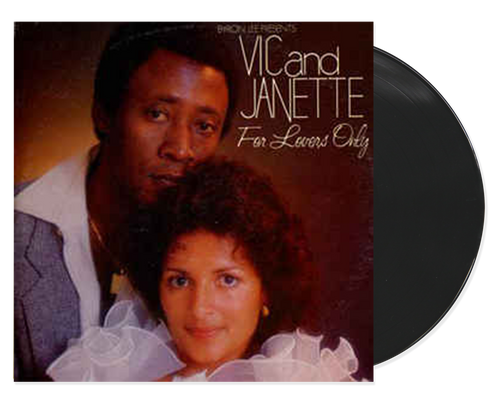 For Lovers Only - Vic & Janette (LP)
