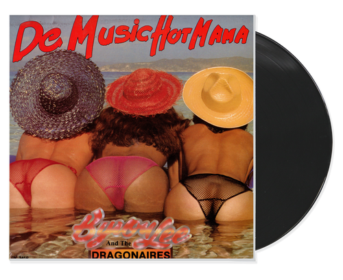 De Music Hot Mama - Byron Lee & The Dragonaires (LP)