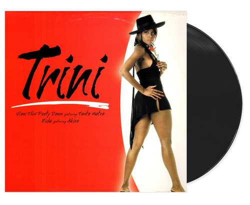 Slow This Party Down / Ride - Trini Feat. Tonto Metro & Akira (12 Inch Vinyl)