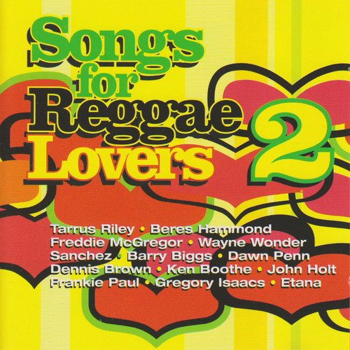 Songs For Reggae Lovers Vol 2 2cd Set - Various Artists