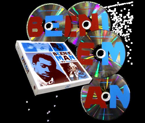 Reggae Legends - 4cd Import - Beenie Man And Friends