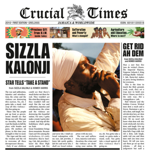 Crucial Times - Sizzla (LP)
