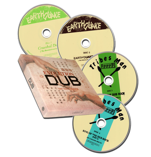Evolution Of Dub Vol.5 - The Missing Link 4cd - Various Artists