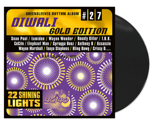 Diwali Gold Edition - Various Artists (LP)