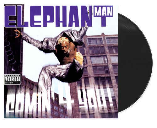 Comin 4 You - Elephant Man (LP)