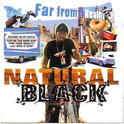 Far From Reality - Natural Black