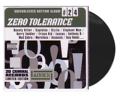 Zero Tolerance - Various Artists (LP)