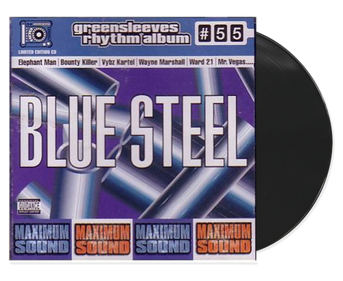 Blue Steel - Various Artists (LP)