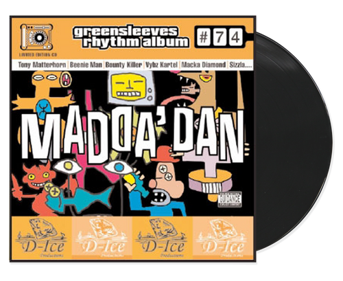 Madda Dan - Various Artists (LP)