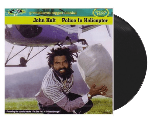 Police In Helicopter - John Holt (LP)