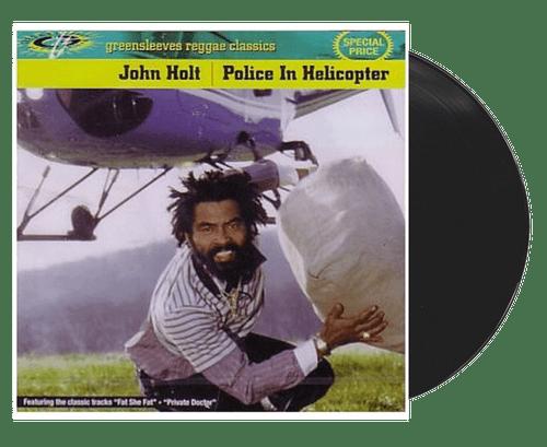 Police In Helicopter - John Holt (LP)
