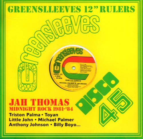 """Greensleeves 12"""" Rulers - Jah Thomas"""