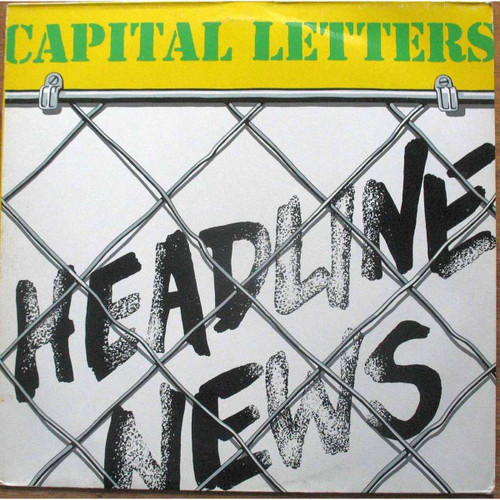 Headline News - Capital Letters