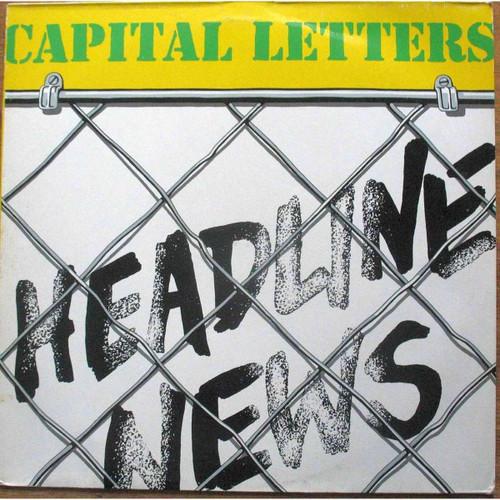 Headline News - Capital Letters