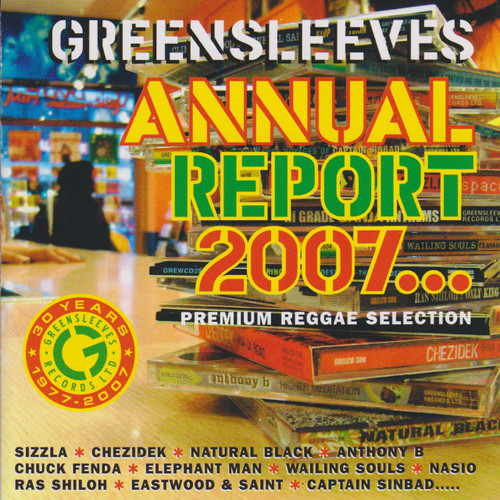 Greensleeves Annual Report 2007 - Various Artists