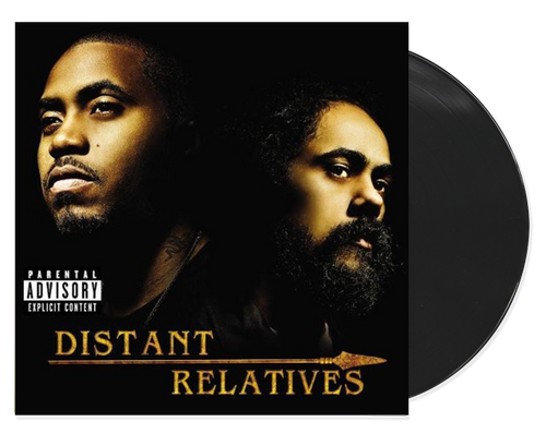 "Distant Relatives - Nas & Damian ""jr. Gong"" Marley (LP)"