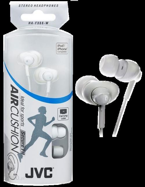 Jvc White Air Cushion Headphones - Air Cushion