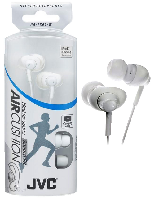 Jvc White Air Cushion Headphones - Air Cushion