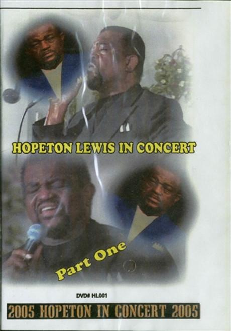 Hopeton Lewis In Concert. Pt 1 - Hopeton Lewis (DVD)