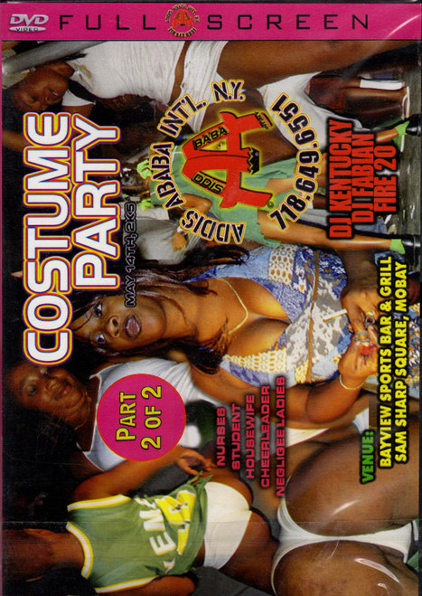 Costume Party Pt.2 - Various Artists (DVD)