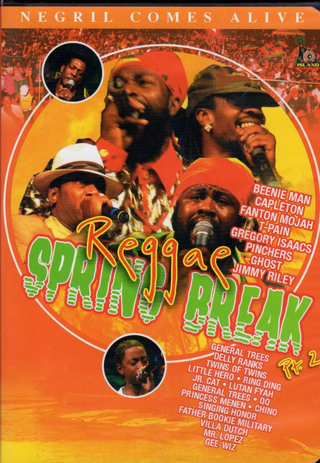 Reggae Spring Break Part.2 - Various Artists (DVD)