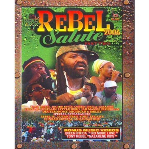 Rebel Salute 2006 Pt.2 - Various Artists (DVD)