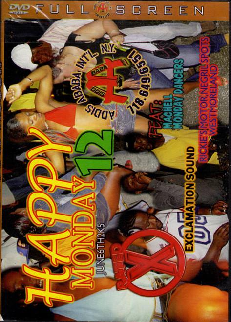 Happy Mondays Pt.12  - Various Artists (DVD)