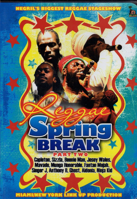Reggae Spring Break 2007 Part.2 - Various Artists (DVD)
