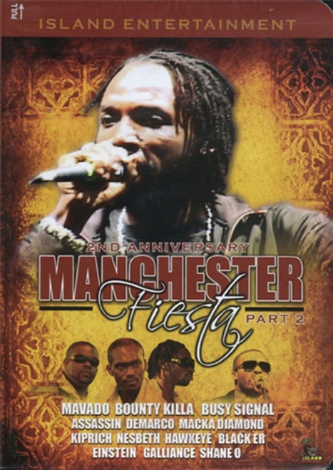 Manchester Fiesta 2008 Part 2 - Various Artists (DVD)
