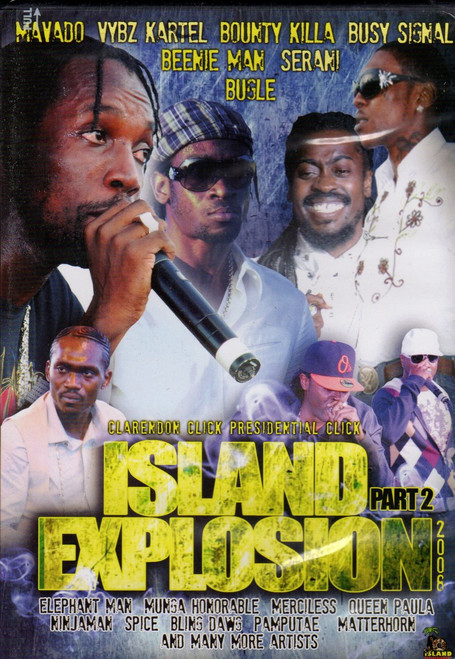 Island Explosion 2008 Pt.2 - Various Artists (DVD)