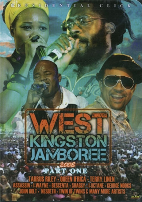 West Kingston Jamboree 2008 Pt.1 - Various Artists (DVD)