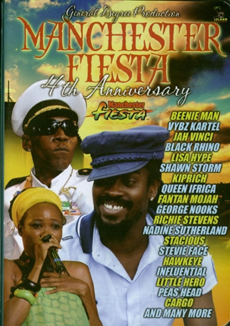 Manchester Fiesta 2009 - Various Artists (DVD)