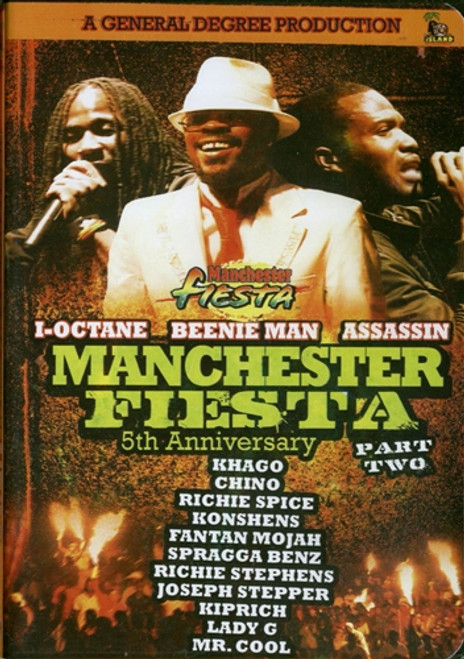Manchester Fiesta 5th Anniversary, Part 2 - Various Artists (DVD)