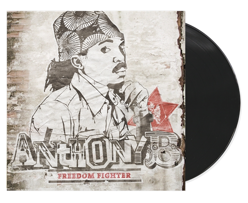 Freedom Fighter(Lp/cd Package) - Anthony B (LP)