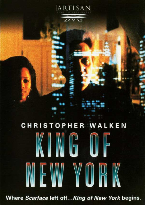 King Of New York - Christopher Walken, Larry Fishbourne,david Carus (DVD)