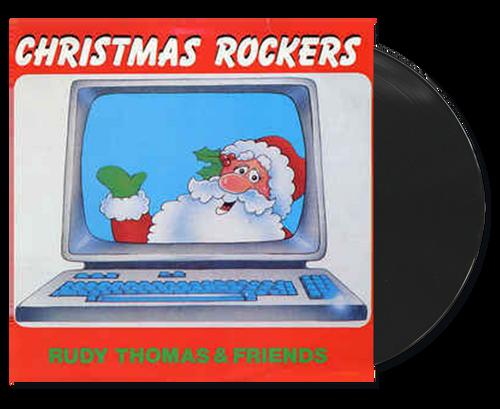 Christmas Rockers - Rudy Thomas & Friends (LP)