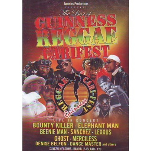 Guinness Reggae Carifest - Various Artists (DVD)