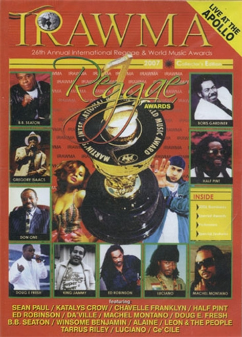 Irawma Reggae Awards 2007 - Various Artists (DVD)