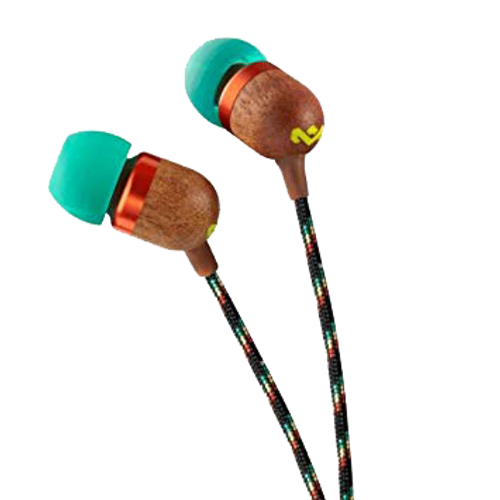 Rasta Jamaica In-ear Headphone - Bob Marley Audio