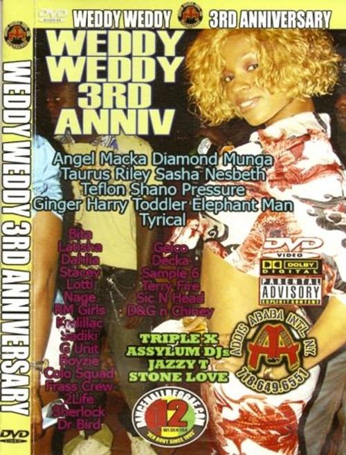 Weddy Weddy 3rd Anniversary - Various Artists (DVD)
