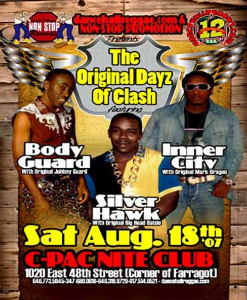 The Original Dayz Of Clash - Body Guard, Silver Hawk & Inner City (DVD)